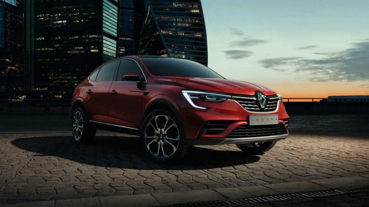 Virtudes del nuevo del Arkana, el nuevo SUV de Renault