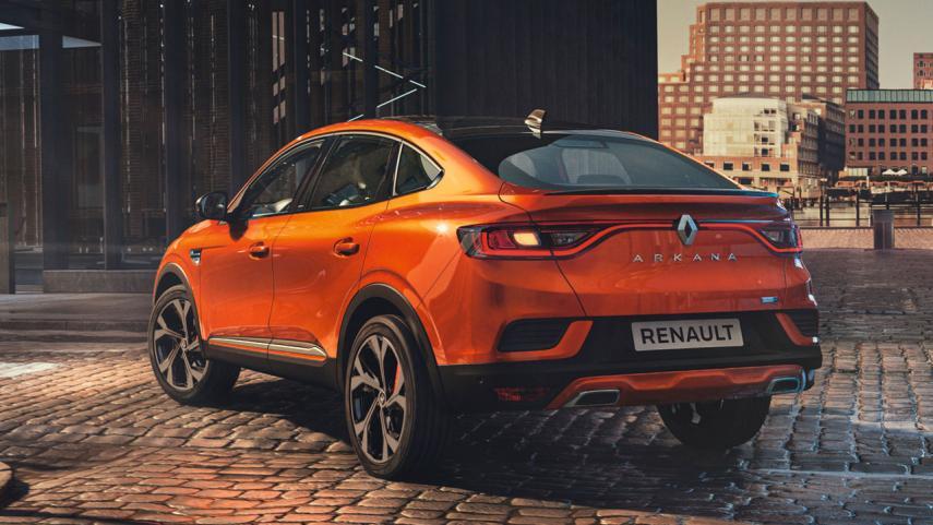 Estética deportiva del Renault Arkana