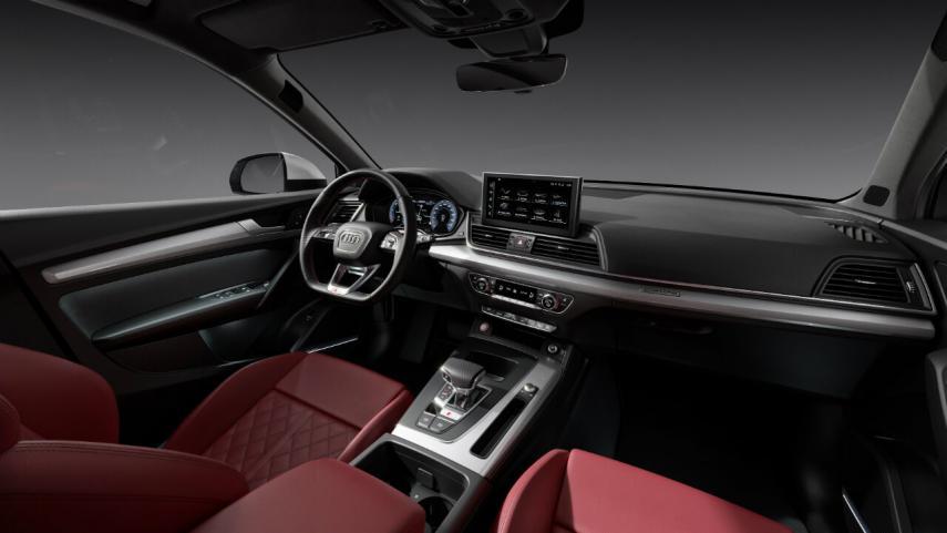 Interior del Audi SQ5 TDI 2021