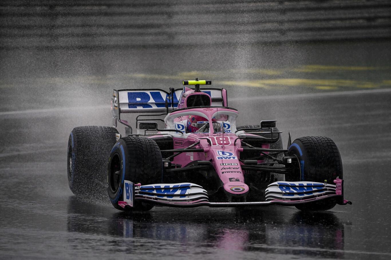 Lance Stroll hace su primera pole en Fórmula 1