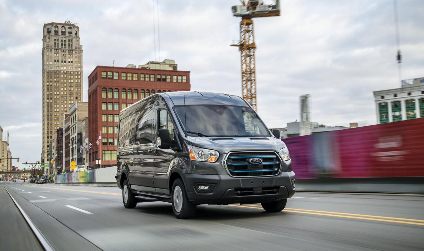 Nueva Ford E-Transit
