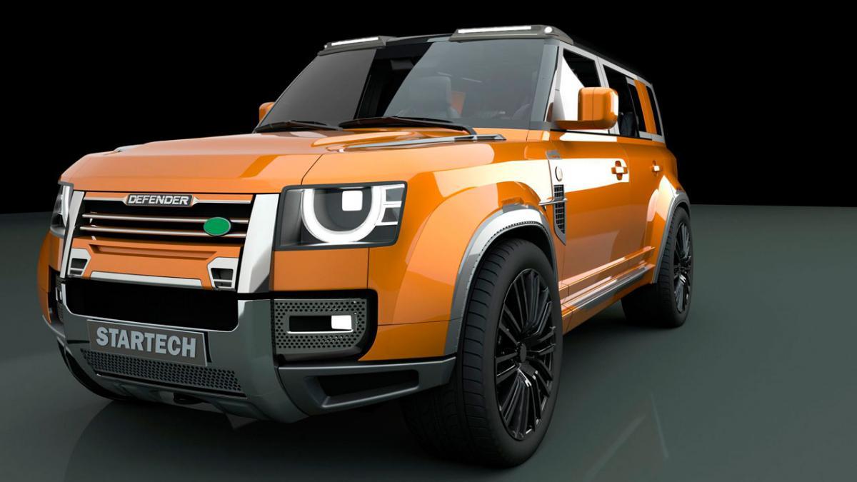 Nuevo Land Rover Defender con una apariencia más agresiva