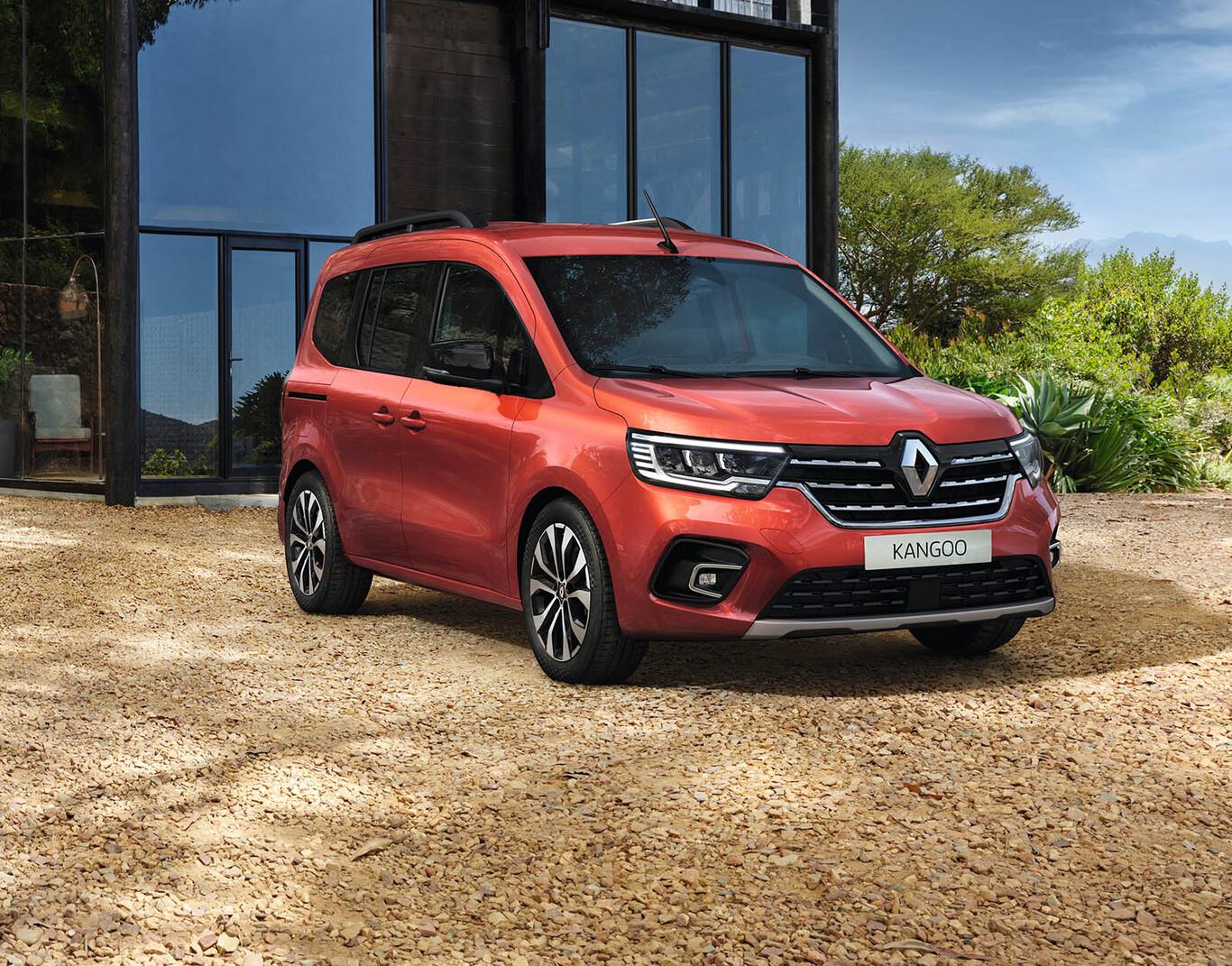 Renault Kangoo se estrena con motores híbridos y versión eléctrica