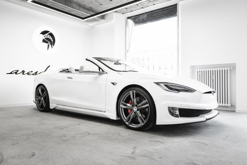 ARES Design crea la versión cabrio del Tesla Model 3