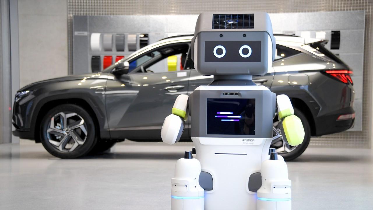 DAL-e, robot de Hyundai que puede ayudar en época de pandemia