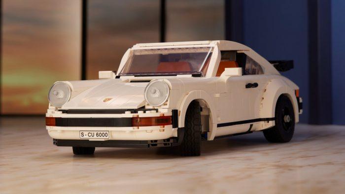 Porsche 911 Turbo y un 911 Targa en el nuevo kit de Lego