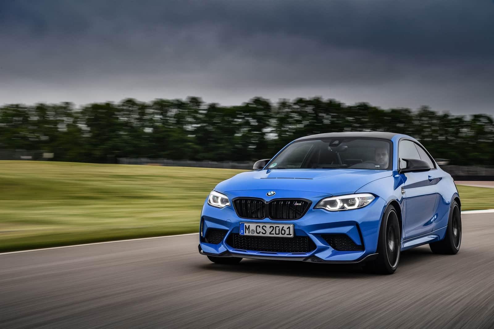 BMW lanza galería de imágenes de su nuevo M2 CS 2020