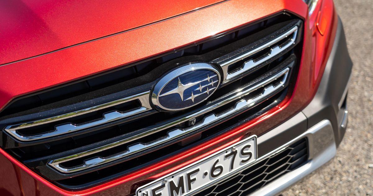 Se suspenden las entregas del Subaru Outback