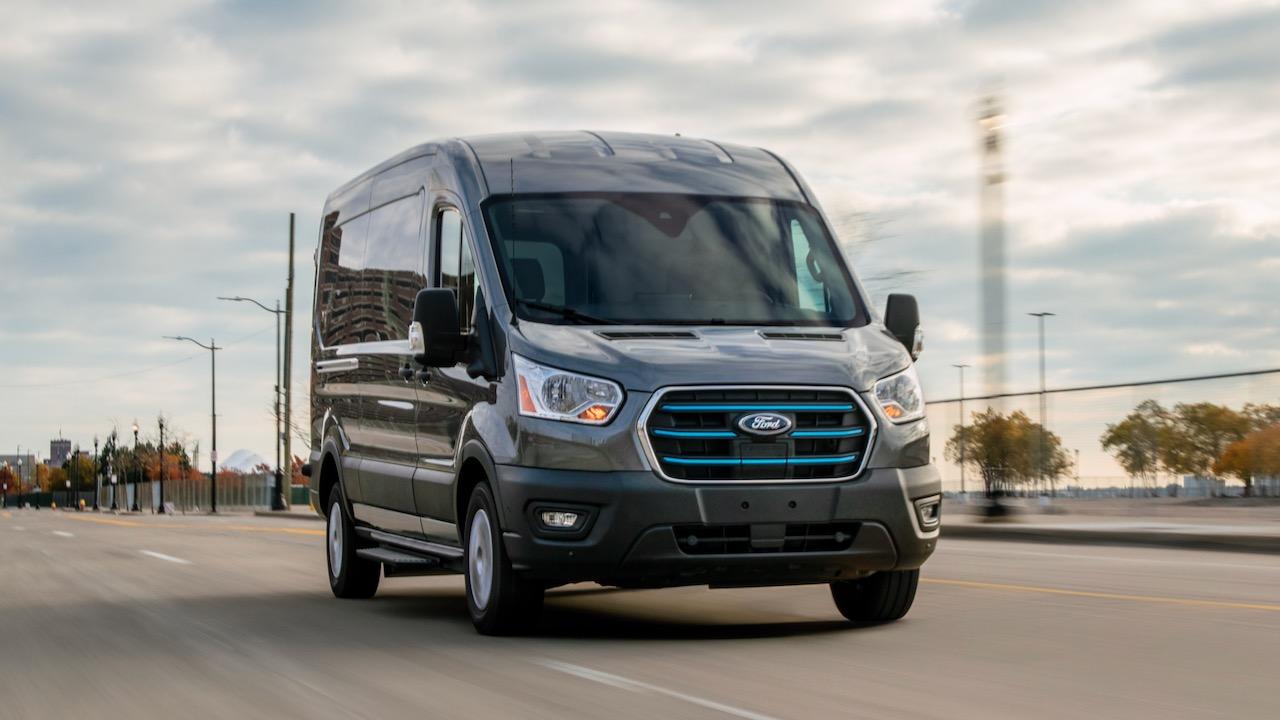 Ford Transit tendrá variante totalmente eléctrica