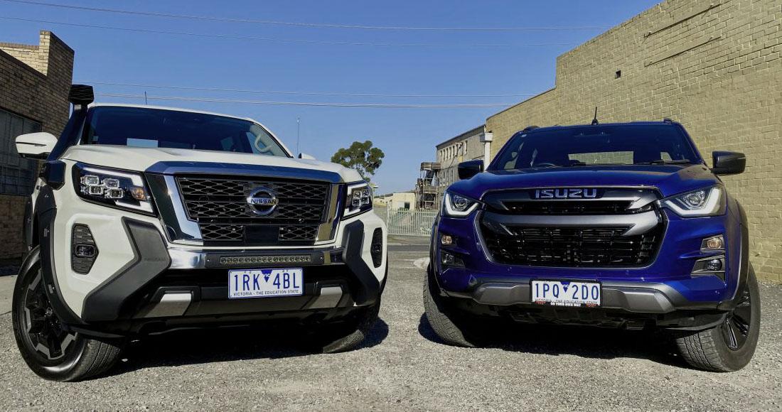 Comparativa Isuzu D-Max X-Terrain vs Nissan Navara ST-X