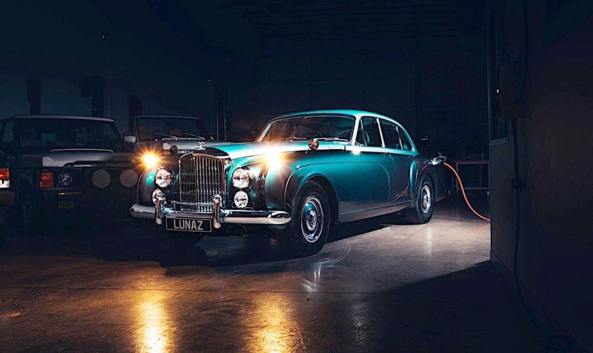 Crean el primer Bentley clásico y eléctrico del mundo