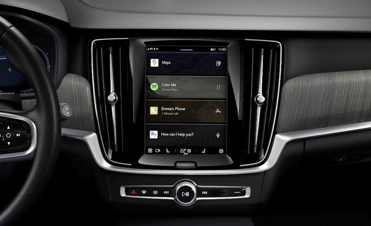 Volvo contará con un nuevo sistema multimedia basado en Android