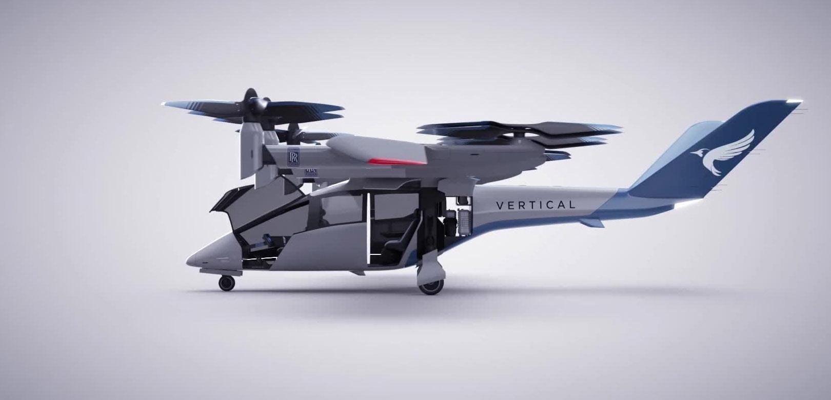 Rolls Royce participa en fabricación de vehículo volador