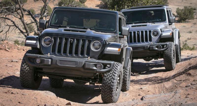 Jeep Wrangler Rubicon 392 se pone a prueba en el Easter Jeep Safari