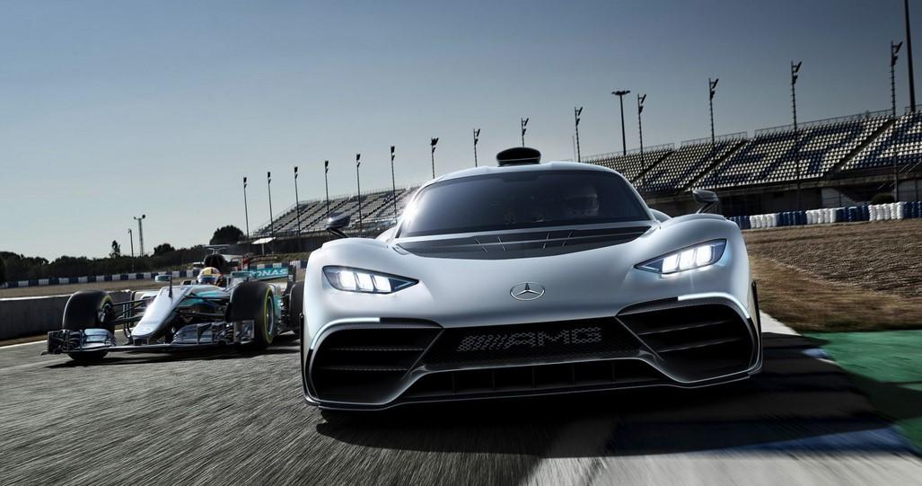 El Mercedes-Benz AMG One con motor F1 llega al Ring