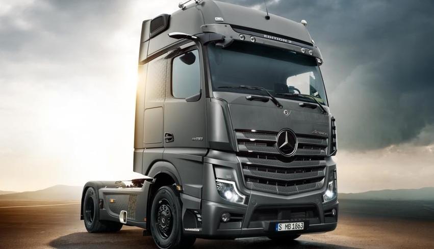 Mercedes nos trae Actros Edition 2, su camión versión premium