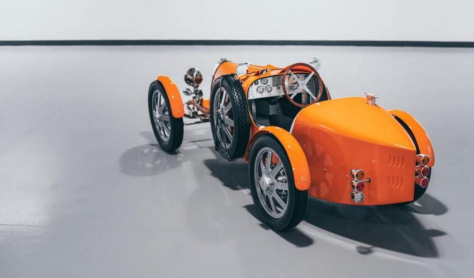 Bugatti Baby II, el juguete a escala que cuesta más que un BMW