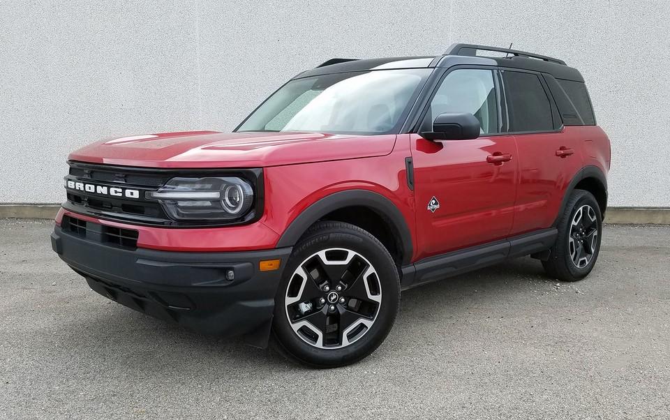 Prueba de manejo: Ford Bronco Sport 2021 Outer Banks