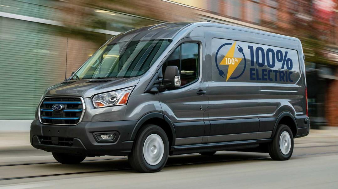 Ford E-Transit 2022 debuta como forgoneta eléctrica