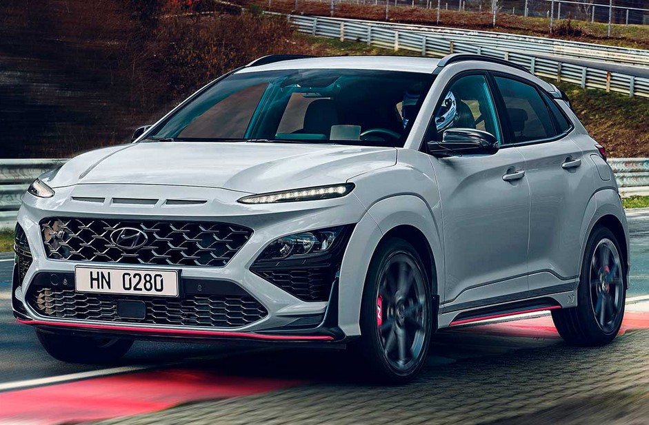 Examinamos el nuevo crossover de alto rendimiento Hyundai Kona N