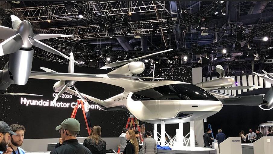 Los taxis aéreos eléctricos de Hyundai podrían llegar en 2025