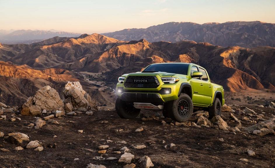 Nuevas actualizaciones Toyota Tacoma Trail Edition y TRD Pro 2022