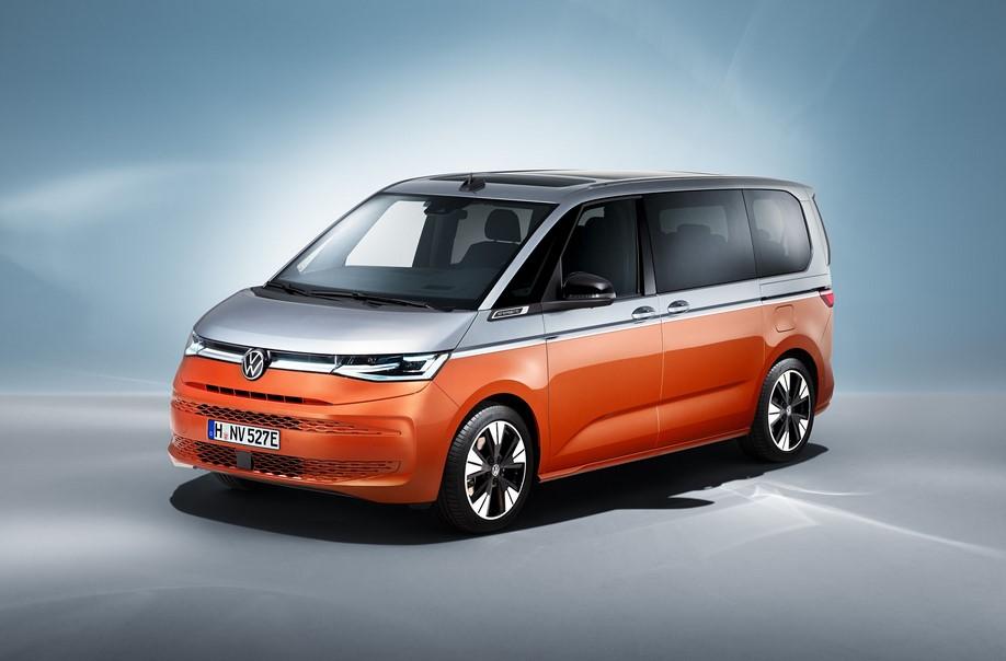 Nuevo Volkswagen T7 Multivan 2021 reemplaza a Caravelle