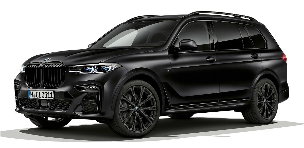 BMW X7 Frozen Black Edition