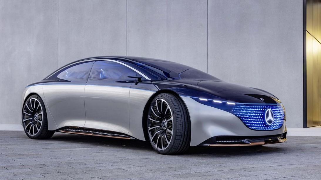 Presentado nuevo protitipo Mercedes Vision EQXX EV