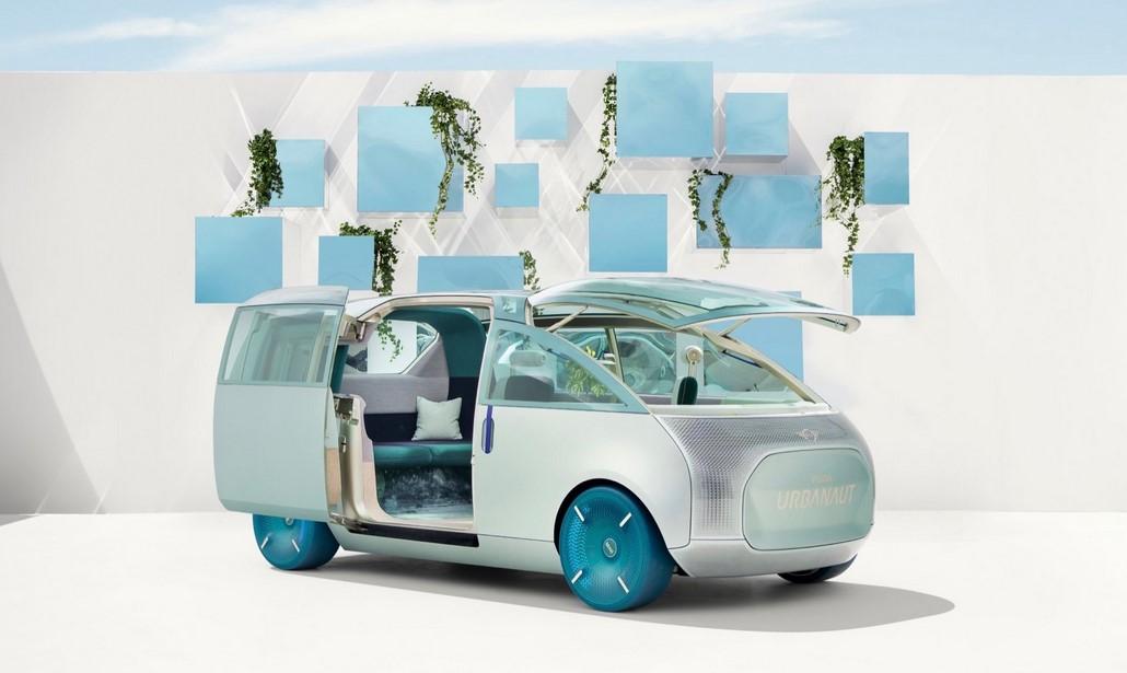 El concepto de furgoneta eléctrica Mini Urbanaut se acerca a la realidad