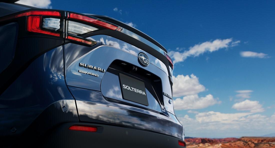 Subaru confirma la llegada de su nuevo SUV Solterra EV a mediados de 2022